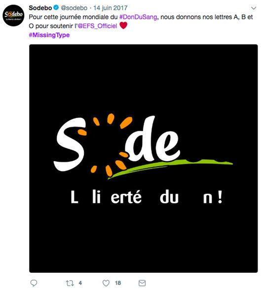 campagne JMDS 2017 Sodebo - Agence de communication AKINAI akinaï
