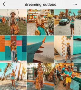 Instagram Feed Couleur Agence Akinai 2019