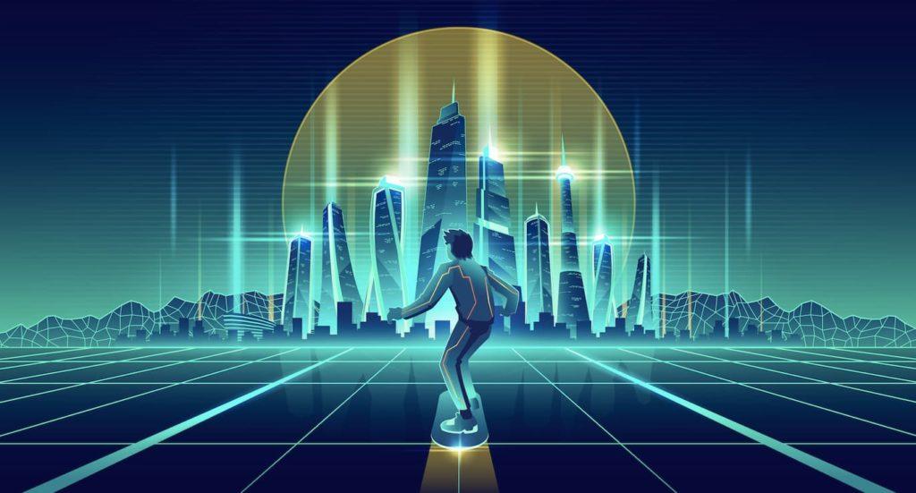 design futuriste agence akinai communication 2020 tendances graphiques