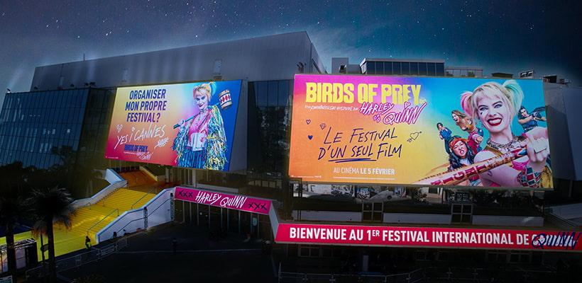 biborg-warner-bros-birds-of-prey-festival-de-quinn-cannes-agence-akinai-2020